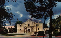 The Alamo Large Format Postcard