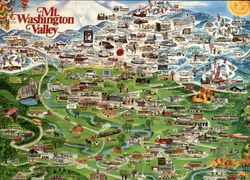 Map of Mt. Washington Valley, New Hampshire