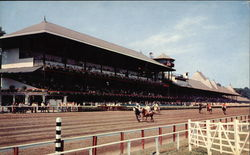 Club House and Grandstand - Saratoga Race Track