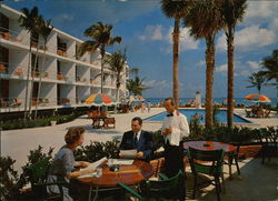One of the beautiful motels in Southern FLorida Large Format Postcard
