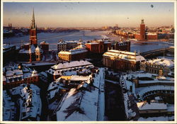 High Above Stockholm and the Stockholm City Hall