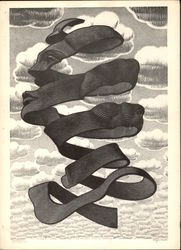 Omhulsel by M. C. Escher 1955