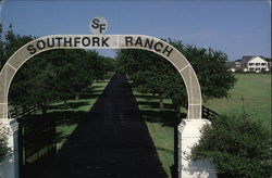 South Fork Ranch Large Format Postcard