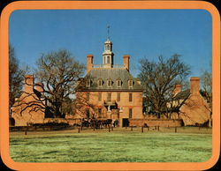 The Governor's Palace Large Format Postcard