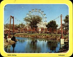 View of Various Rides, Valleyfair