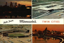Various Views of The Twin Cities