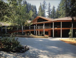 The New Dining Commons at Mount Hermon Christian Conference Center California