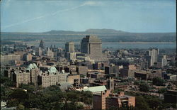View of Business District from Mount Royal