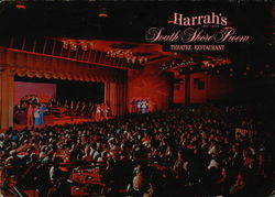 Harrah's Large Format Postcard