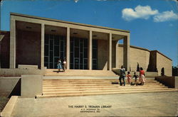 The Harry S. Truman Library Large Format Postcard