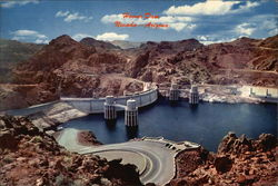 Upstream Face of Hoover Dam