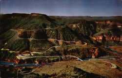 Switchbacks Through Salt River Canyon