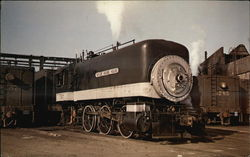 Southern Pacific 547, an 0-6-0 T (Meaning Tank)