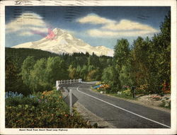 Mount Hood from Mount Hood Loop Highway