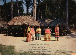 Ross Allen's Seminole Indian Village