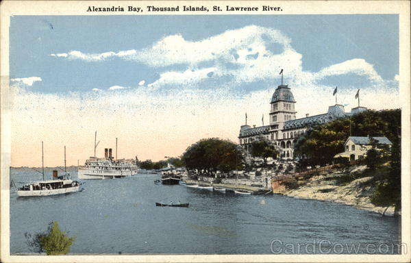 Alexandria Bay, St. Lawrence River Thousand Islands New York