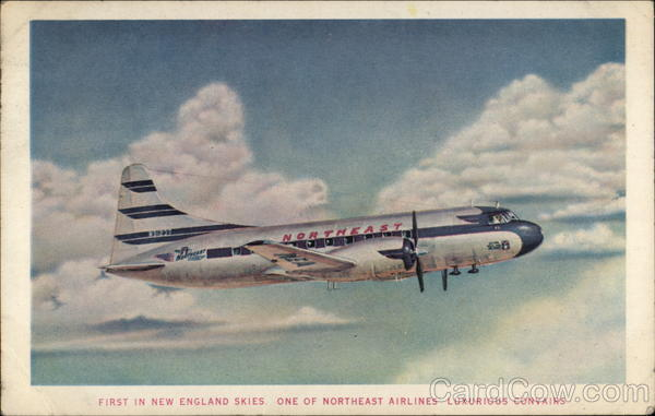 One of Northeast Airlines Luxurious Convairs Aircraft