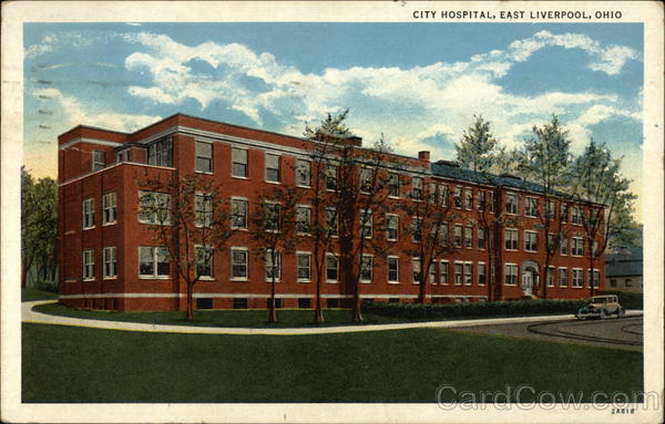 City Hospital East Liverpool Ohio