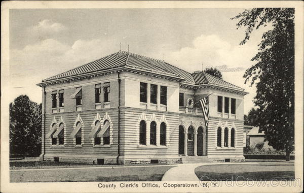 County Clerk's Office Cooperstown New York