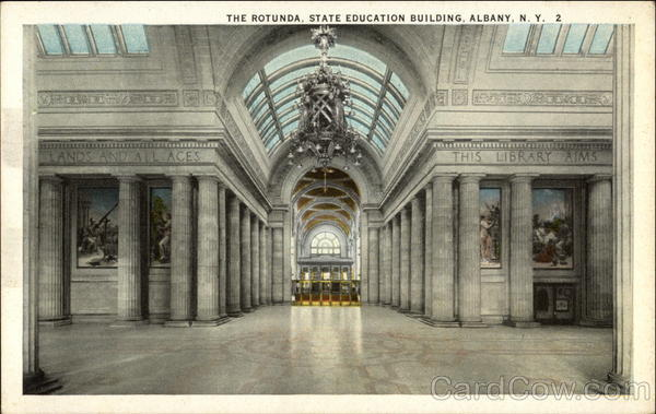 The Rotunda, State Education Building Albany New York