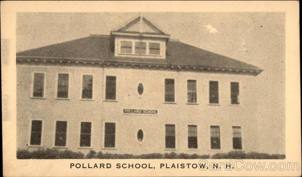 Pollard School Plaistow New Hampshire