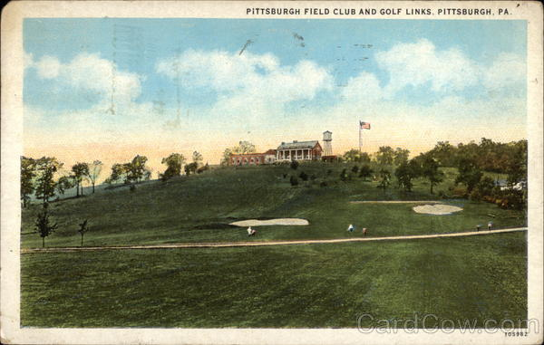 Pittsburgh Field Club and Golf Links Pennsylvania