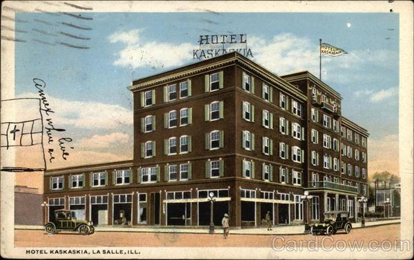 Hotel Kaskaskia La Salle Illinois