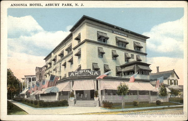 View of Ansonia Hotel Asbury Park New Jersey