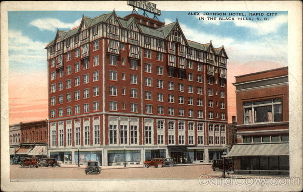 Alex Johnson Hotel, in the Black Hills Rapid City South Dakota