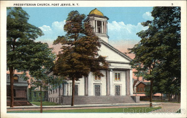 Presbyterian Church Port Jervis New York Gus Krauss