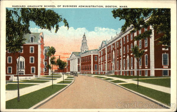 Harvard Graduate School of Business Administration Boston Massachusetts