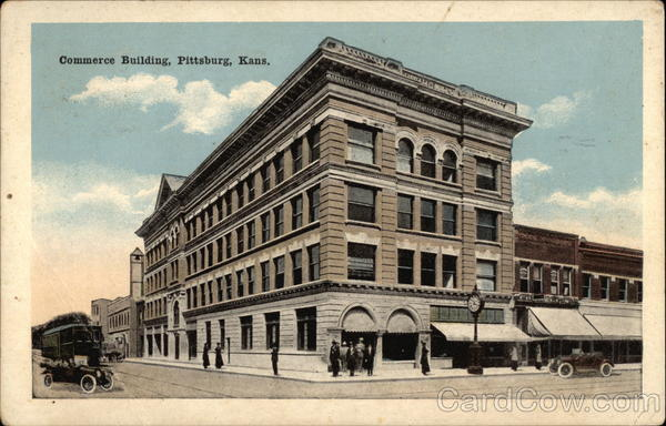 Commerce Building Pittsburg Kansas