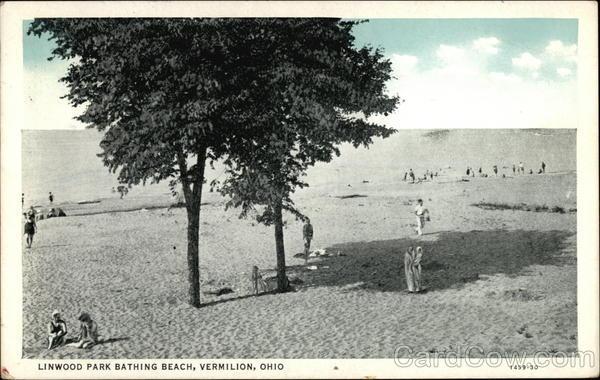 Linwood Park Bathing Beach Vermilion Ohio