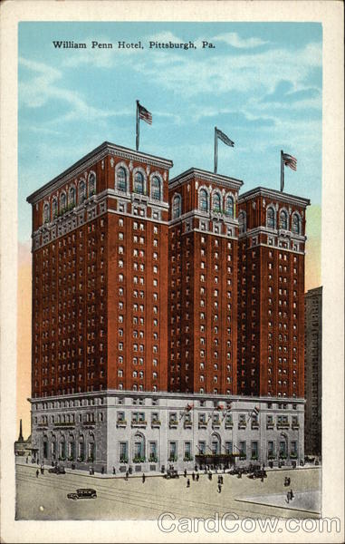 William Penn Hotel Pittsburgh Pennsylvania