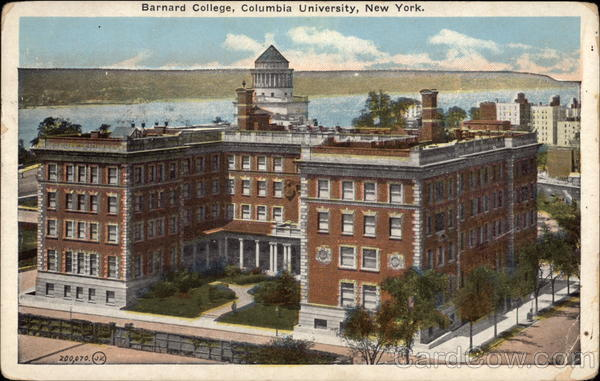 Columbia University - Barnard College New York First Day Issue Cards