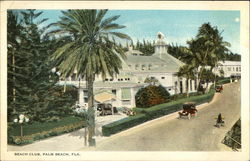 Beach Club Postcard