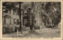Macy and Starbuck Houses - Upper Main Street