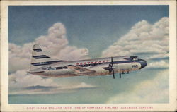 One of Northeast Airlines Luxurious Convairs