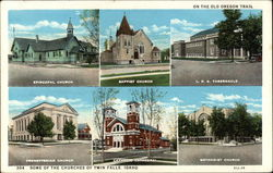 Various Churches of the Town