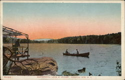 Kaaterskill Lake at Sunset - Catskill Mountains