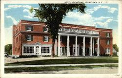 Hotel Johnstown New York Ny White Border Pm 1932 Sep 5