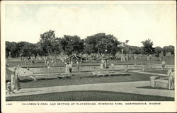 Riverside Park - Children's Pool and Section of Playground