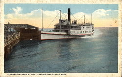 Steamer Gay Head at Boat Landing