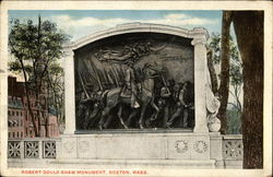 Robert Gould Shaw Monument