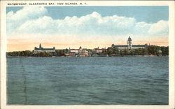Waterfront, Alexandria Bay