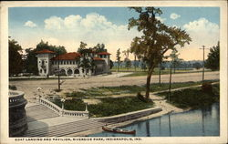 Boat Landing and Pavilion, Riverside Park