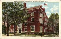 Martha Cook Home, University of Michigan