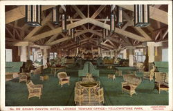 Grand Canyon Hotel, Lounge Toward Office
