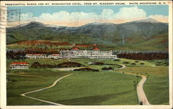 Presidential Range & Mt. Washington Hotel, From Mt. Pleasant House