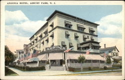 View of Ansonia Hotel